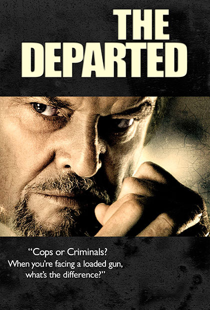 The Departed Movie Poster by Megan Bouwkamp